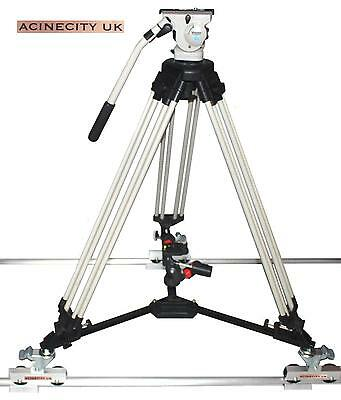 Camera Tracking & Floor Dolly 2 in 1 for JVC CANON NIKON SONY BMCC, 4k 8K etc