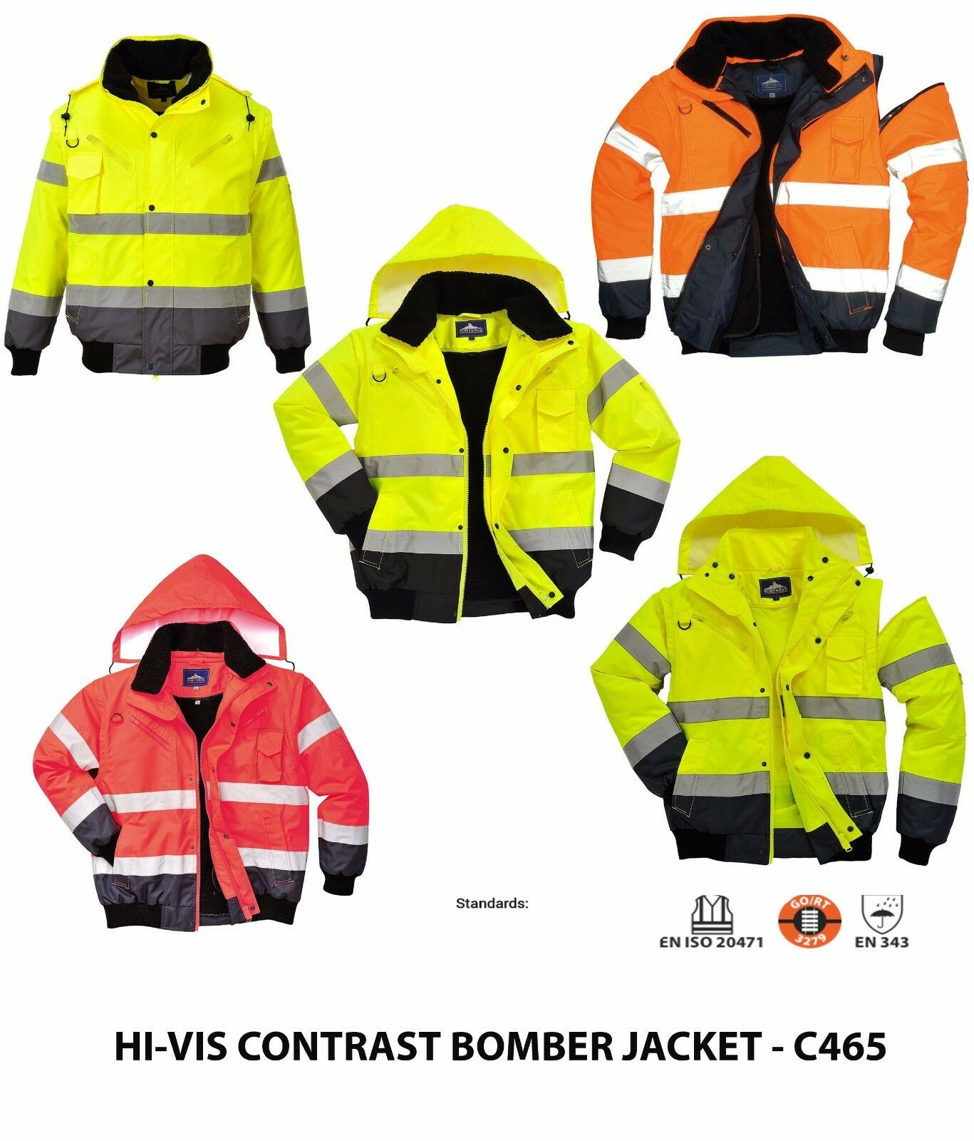 Portwest Workwear Mens Sealtex Ultra 2-Tone JKT