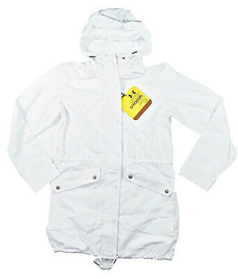 Womens Storm Front Jacket (Under Armour ALL SEASON STORM  Womens Zip Front Jacket Small White NEW)