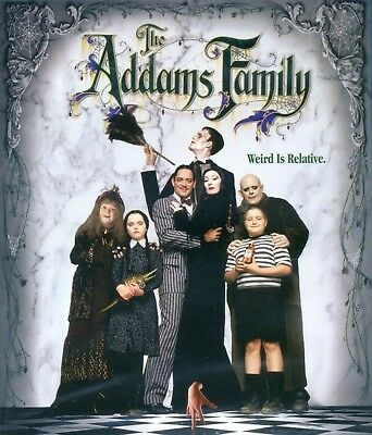 Addams Family 1991 movie, new Blu-ray Anjelica Huston Raúl Juliá Lloyd Halloween