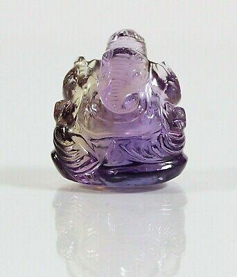Ganesha, Amethyst, H-2,5 cm, 11,50 gr. (ES14)