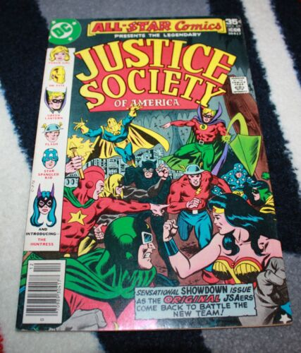 Justice Society of America 69 1st Appearance Huntress