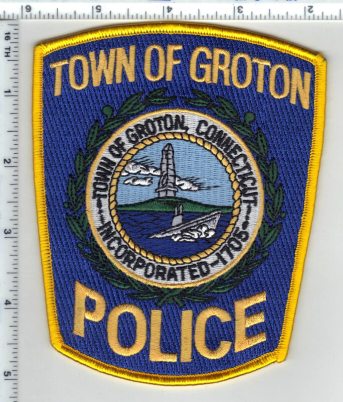 Town of Groton Police (Connecticut) Shoulder Patch - new
