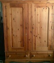 Large Pine Wardrobe North Narrabeen Pittwater Area Preview