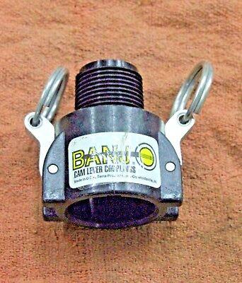 Banjo Ghmt075b 34 Polypropylene Cam Lock Connector