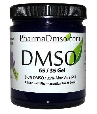 DMSO Gel 65/35 Aloe Vera infused w/ Lavender essential oil 1.7 oz. Aloe Vera Essential Oil