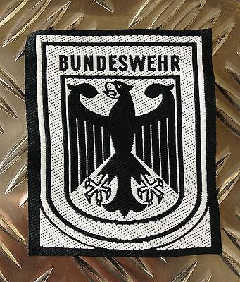 Original Deutsche Armee schwarz und weiß Bundeswehr Aufnäher / Abzeichen x 50 - ()