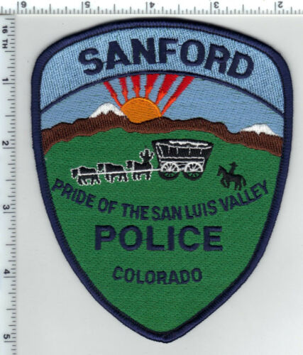 Sanford Police (Colorado) Shoulder Patch - new from the 1990