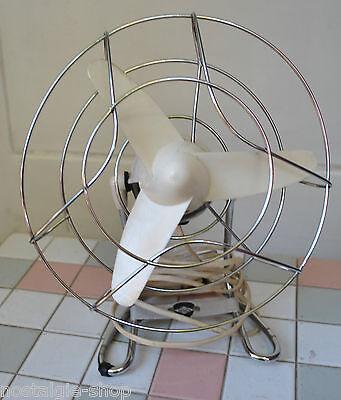 50er 60er Ventilator TeHaGe Tischventilator Mid Century Chromkorb 50s 60s