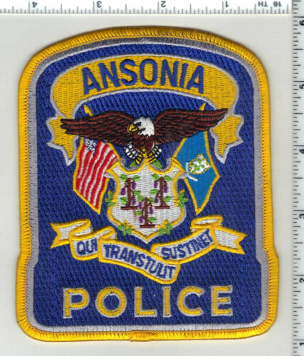 Ansonia Police (Connecticut) 3rd Issue Shoulder Patch