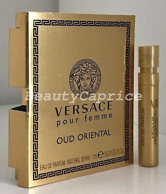 1 Sample x1ml Versace Pour Femme Oud Oriental Eau de Parfum SPRAY VIAL Free P&P