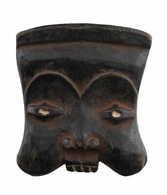 Masquette Bamileke Cameroon 12 cm Mask Diminutive African Art Primitive 16919