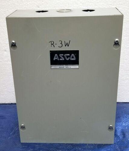ASCO 917 122031 Lighting Contactor 20 Amp 12‑POLE 120V Coil w/Enclosure