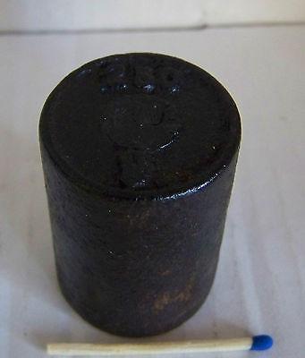 Altes Gewicht für Waage Handel Eisen 200 Gramm (7)