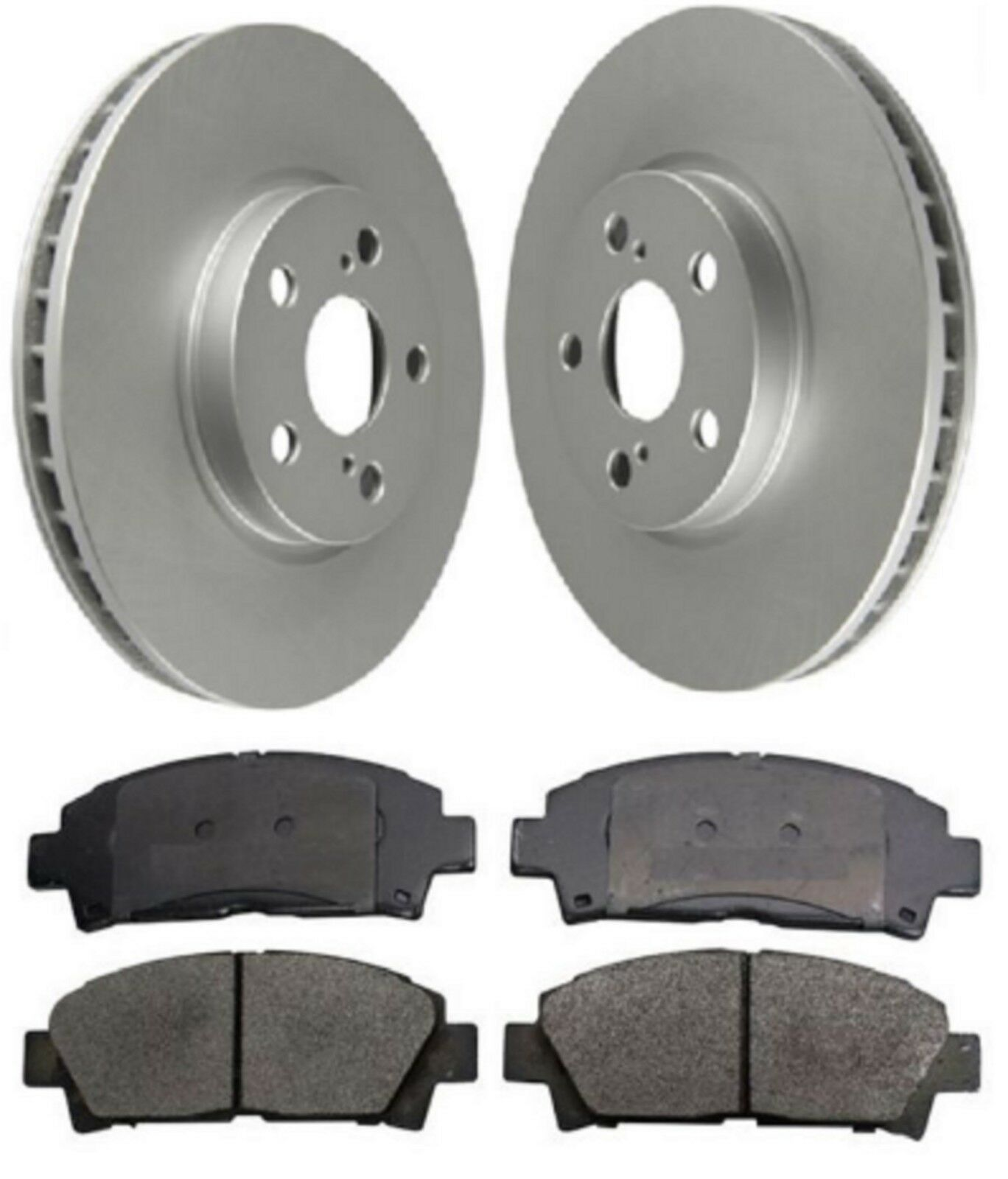 REAR DELPHI LOCKHEED BRAKE PADS FOR TOYOTA AVENSIS 1.6 1.8 2.0 D-4D 2.2 2008-