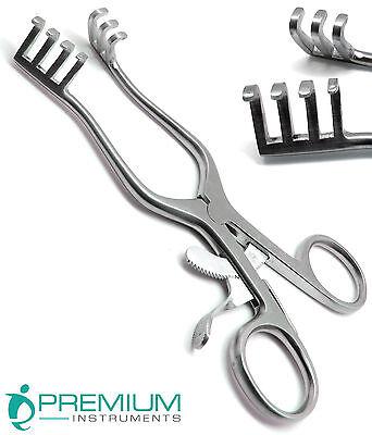 Weitlaner Retractors 6.5 Blunt 3x4 Prongs Surgical Veterinary Instruments