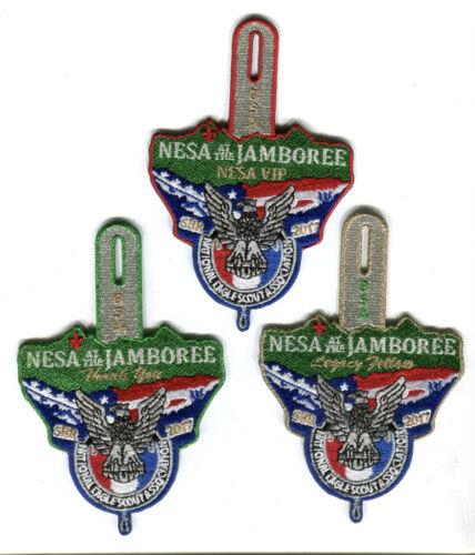 NESA at the 2017 Jamboree Rare set of patches