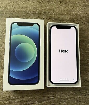 Apple iPhone 12 mini A2176 256GB Blue.  Unlocked.  Perfect condition!  MG6E3LL/A