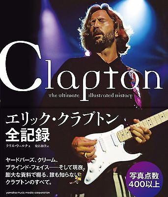 Book All Record of ERIC CLAPTON over 400 photos of ERIC CLAPTON , Japan 2012