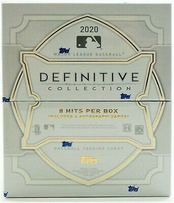 LIVE GROUP BREAK - 2020 DEFINITIVE COLLECTION BASEBALL HOBBY BOX - RANDOM PLAYER