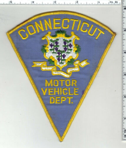 Motor vehilce Department (Connecticut) 2nd Issue Shoulder Patch