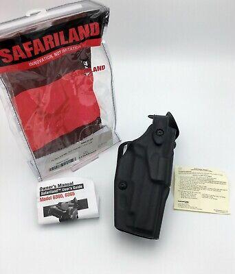 Safariland 6365-832-131 Black STX Tactical RH Duty Holster For Glock 17//22 M3