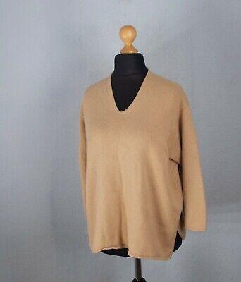 Iris von Arnim Women's Ivory Pullover Sweater 100% Cashmere