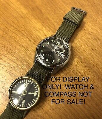 VIETNAM ERA U.S. MILITARY ISSUE NYLON OD WATCH BAND 1965 MILS46383A1