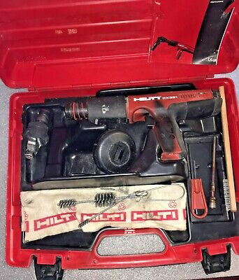 Hilti Dx 351 Fully Automatic Powder-actuated Tool With Case And Accessories