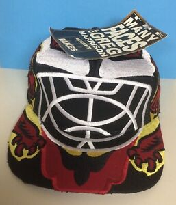 Greg Harrison Goalie Mask Hat - The Scot - New Condition