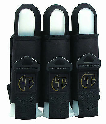 Tippmann Sport Series 3 Pod Harness with adjustable belt Black Paintball Pack