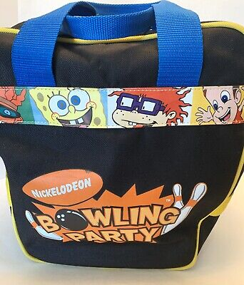 Nickelodeon Bowling Party Bowling Ball Carry Bag Spongebob RugRats