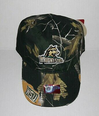 - Wright State University Raiders Adjustable Buckle Hat Embroidered Distressed Cap