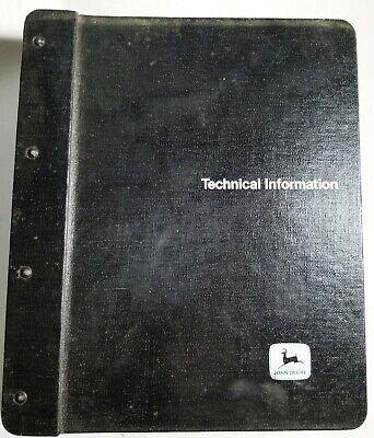 John Deere 410b And 510b Backhoe Loader Dealer Service Manual - Tm-1285