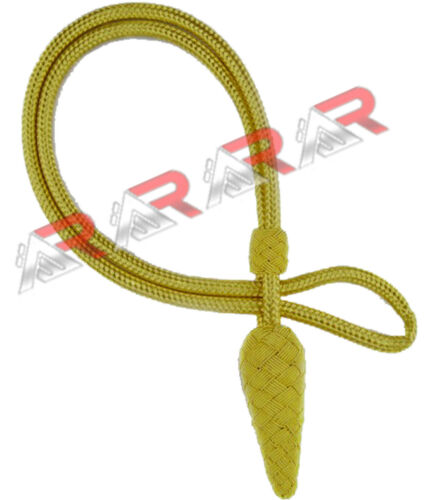 British Army gold cord sword knot Foot Guards Officer Brand New AAR