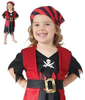 Piraten Kleid Buch Woche Halloween Kostüm Mädchen - Piraten Mädchen Kleinkind Kostüm