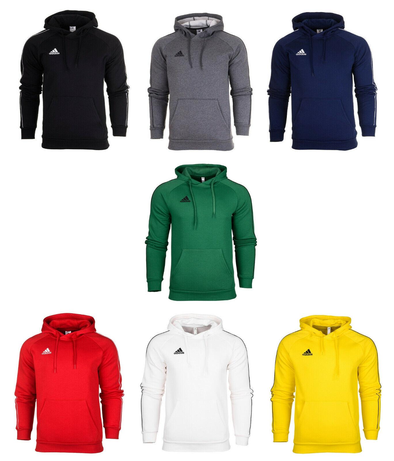 Adidas Core 18 Herren Kapuzenpullover Fleece Sweatshirt