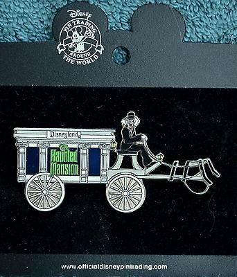 Disneyland HAUNTED MANSION HEARSE HORSELESS CARRIAGE Retired Pin - Disney Pins