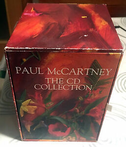 PAUL-McCARTNEY-BEATLES-FLOWERS-IN-THE-DIRT-THE-CD-COLLECTION-PROMO-BOX-NO-CDs