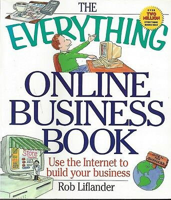THE EVERYTHING ONLINE BUSINESS BOOK BY R. LIFLANDER ~ NEW ~ COST $12.00