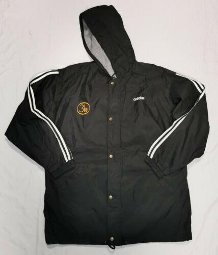 Third Eye Blind Vintage Adidas Windbreaker Jacket 1998 Tour Crew Sz L 3eb RARE