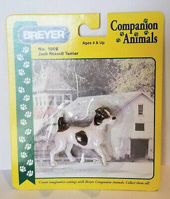 Breyer 1505 Jack Russell Terrier Companion Animal Dog Traditional Model Retired