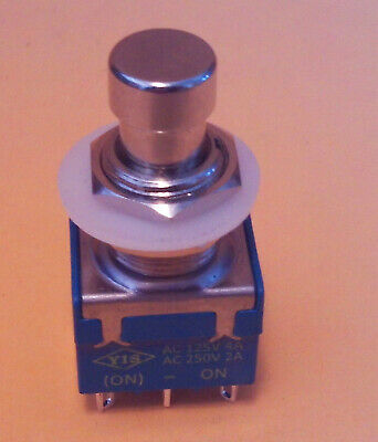 Momentary Dpdt Foot Switch  Ships From Usa Lot-s-c