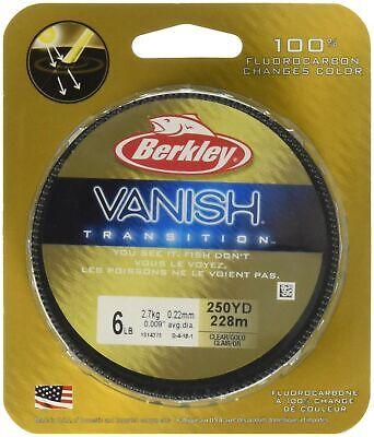 Berkley Vanish 4 lb 110 yards Clear NIP
