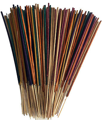Incense Sticks Premium Masala Indian 100 Slow Burn (45 min+) Stick Multi Aromas