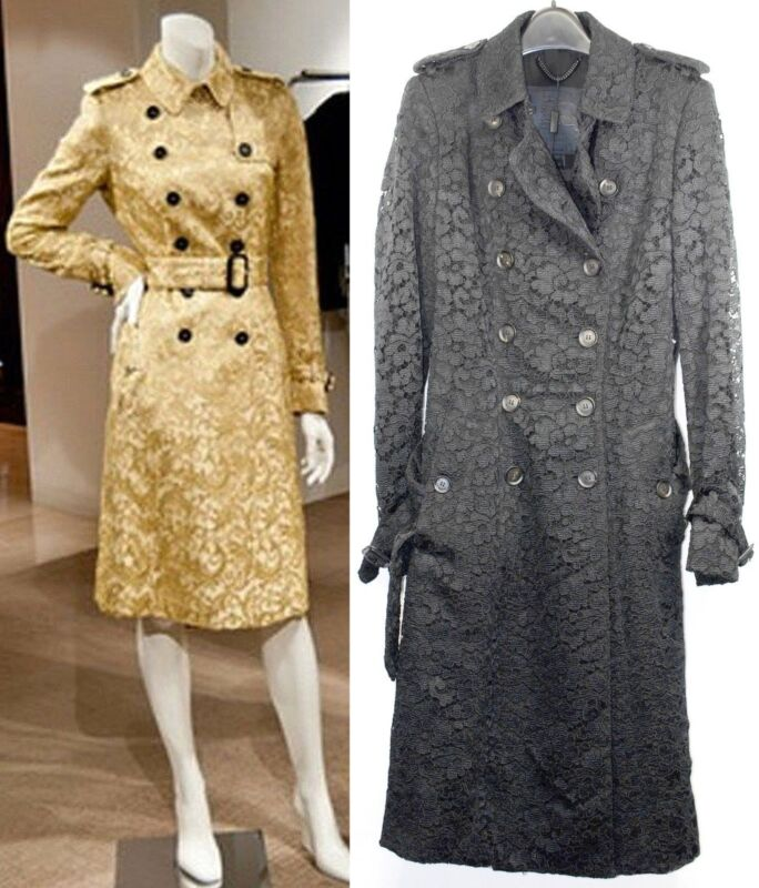 $7,250 Burberry Prorsum Limited 8 10 42 Regent Street Lace Trench Coat Women Nwt