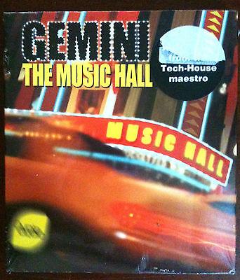 GEMINI - THE MUSIC HALL - TECH-HOUSE MAESTRO - CD Neuf (A2)