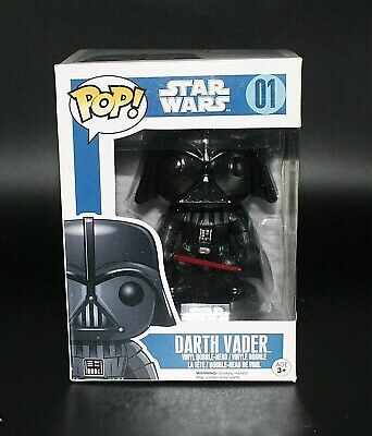 Funko POP #01 Star Wars Darth Vader Vinyl Figure NEW in Box