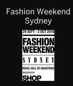 WANTED Sydney Fashion Weekend Comp Tickets x 2 Sydney City Inner Sydney Preview