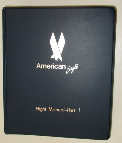 American Eagle Airlines  1990  Flight Manual  Part I